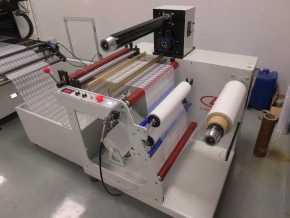Roll-to-Roll Screen Printing Machine